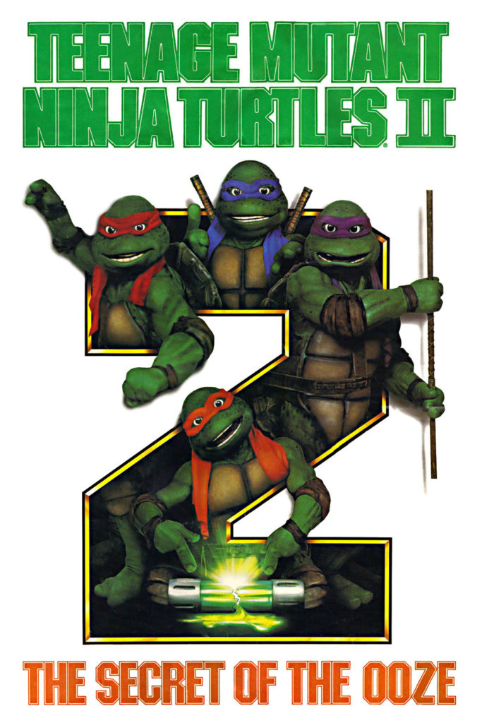 Teenage Mutant Ninja Turtles 2 Movie Poster