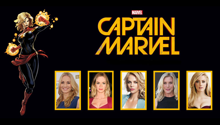 Five Possible Leads for Captain Marvel Movie